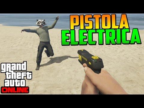 PISTOLA ELÉCTRICA EN PRIMERA PERSONA!! + ¿Cómo Tenerla? (PS3-PS4) - Gameplay GTA 5 Online - DaniRep
