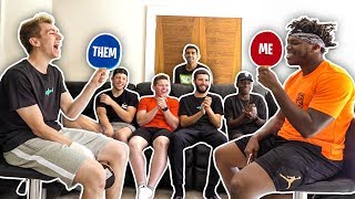 HOW WELL DO THE SIDEMEN KNOW EACH OTHER?