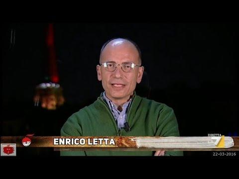 Enrico Letta sugli atti terroristici a Bruxelles e cosa dovrebbe fare l'Europa