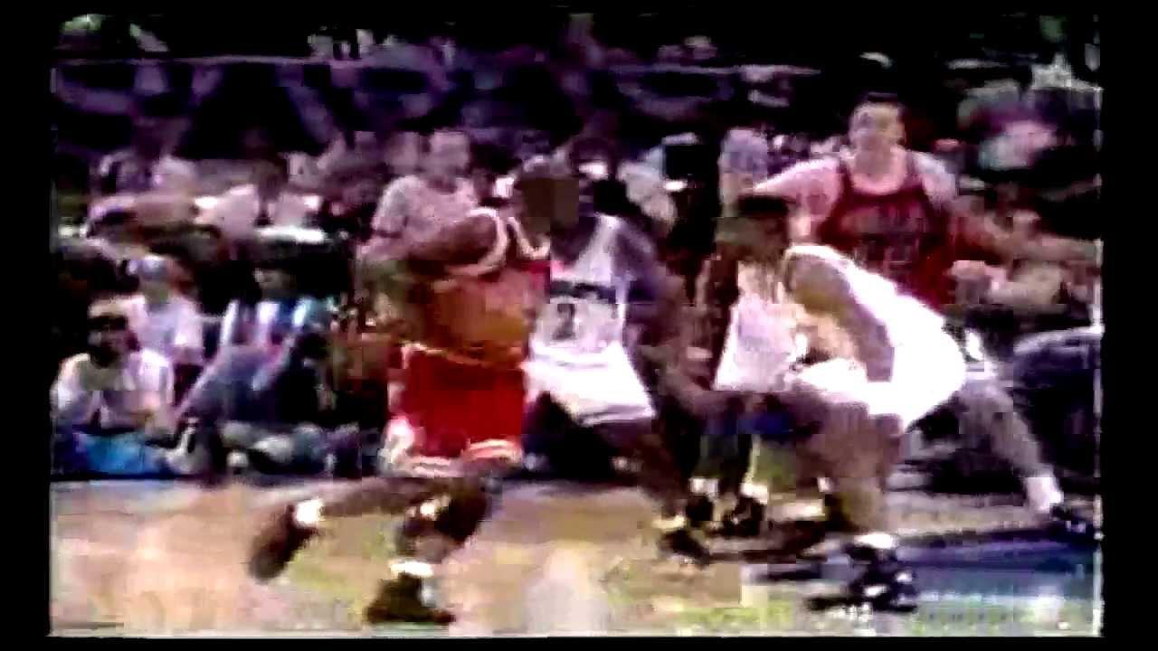 Michael jordan number 45 rare 1995 highlights youtube