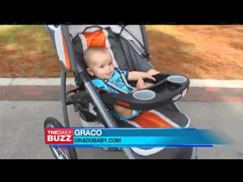 Daily Buzz Segment Featuring the Graco FastAction Fold Jogger Click Connect