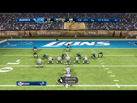SUPER BOWL! - Detroit Lions Madden 13 Franchise - Super Bowl vs. Jacksonville Jaguars
