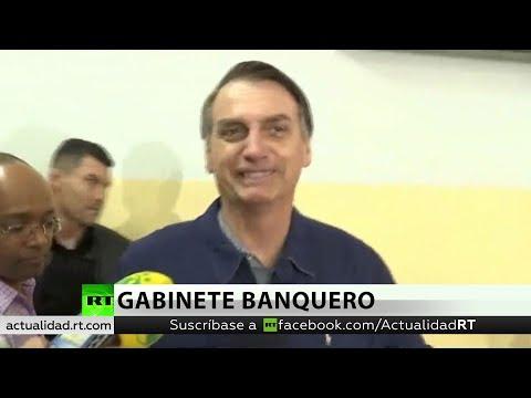 Bolsonero ya alista su gabinete compuesto de banqueros y empresarios antes de segunda vuelta