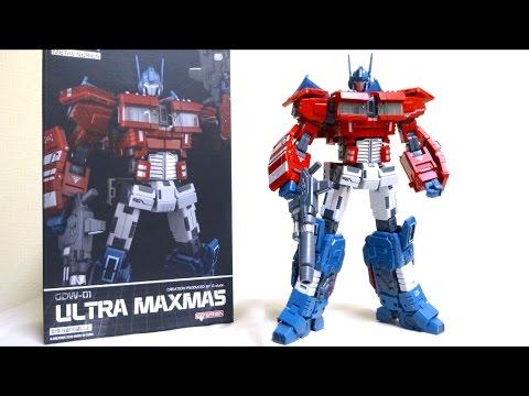 【トランスフォーマー IDW オプティマスプライム】っぽい人 ウルトラマキシマス ヲタファのTF非正規レビュー / GCreation GDW-01 not IDW Optimus Prime