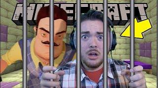 The Neighbor *TRAPPED US* Inside Minecraft Prison!!! | Minecraft Gameplay (Custom Maps)