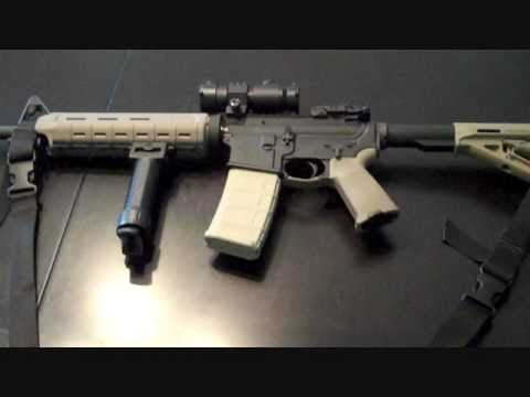 Dark Earth Magpul Moe Kit Before And After Youtube