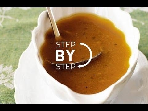 Turkey Gravy Recipe, How to Make Turkey Gravy from Drippings, Recipe for Turkey Gravy