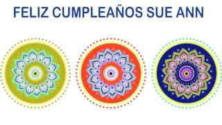Sue Ann   Indian Designs - Happy Birthday