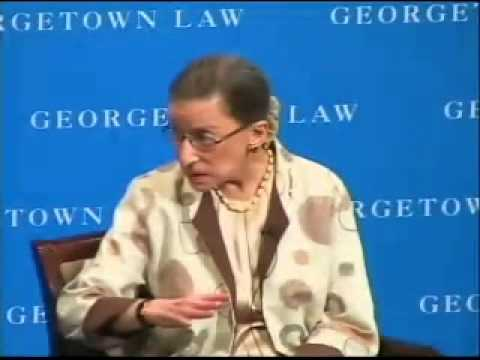 WHAT: Women and the Supreme Court Bar WHO: Ruth Bader Ginsburg, Associate Justice of the Supreme Court of the United States; former Counsel in several Suprem...