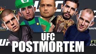 UFC PHOENIX POSTMORTEM!!!