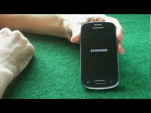 Samsung GALAXY S3 Mini GT-I8190 Unboxing & Hands-on