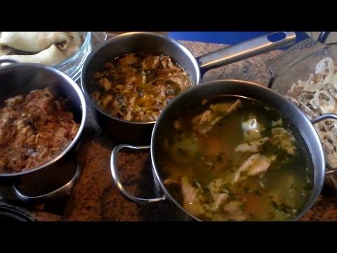 Чем я кормлю семью, простые блюда. 2 часть