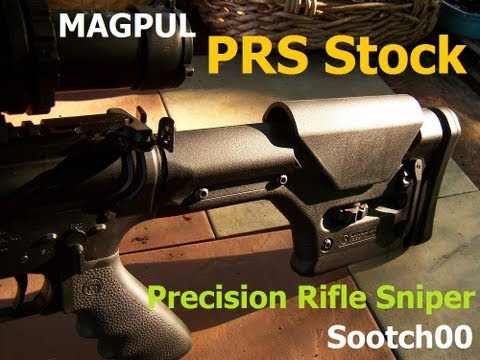 Magpul PRS Precision Rifle / Sniper AR15 Stock