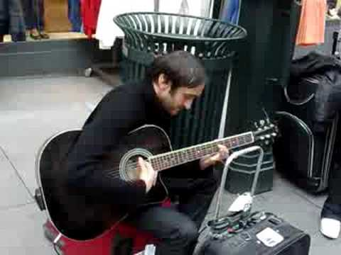 The healthy but sick street guitar player Music Videos