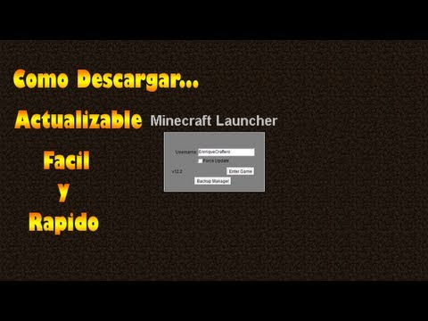 Como Descargar Minecraft 1.5.2 Actualizable Facil y Rapido