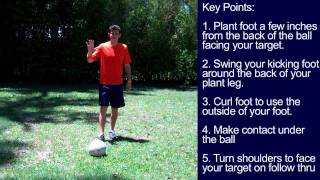 How to do a Rabona - Soccer Tricks like Cristiano Ronaldo - Online Soccer Academy