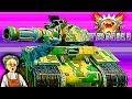 Танки X #22 онлайн Проигрыш МУЛЬТИК игра игра как мультфильмы про танки икс онлайн видео для детей