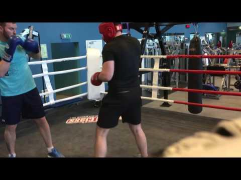 Бокс работа в парах