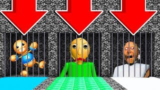 DO NOT OPEN THE WRONG PRISON! (KICK THE BUDDY,BALDI'S BASICS,GRANNY)Ps3/Xbox360/PS4/XboxOne/PE/MCPE