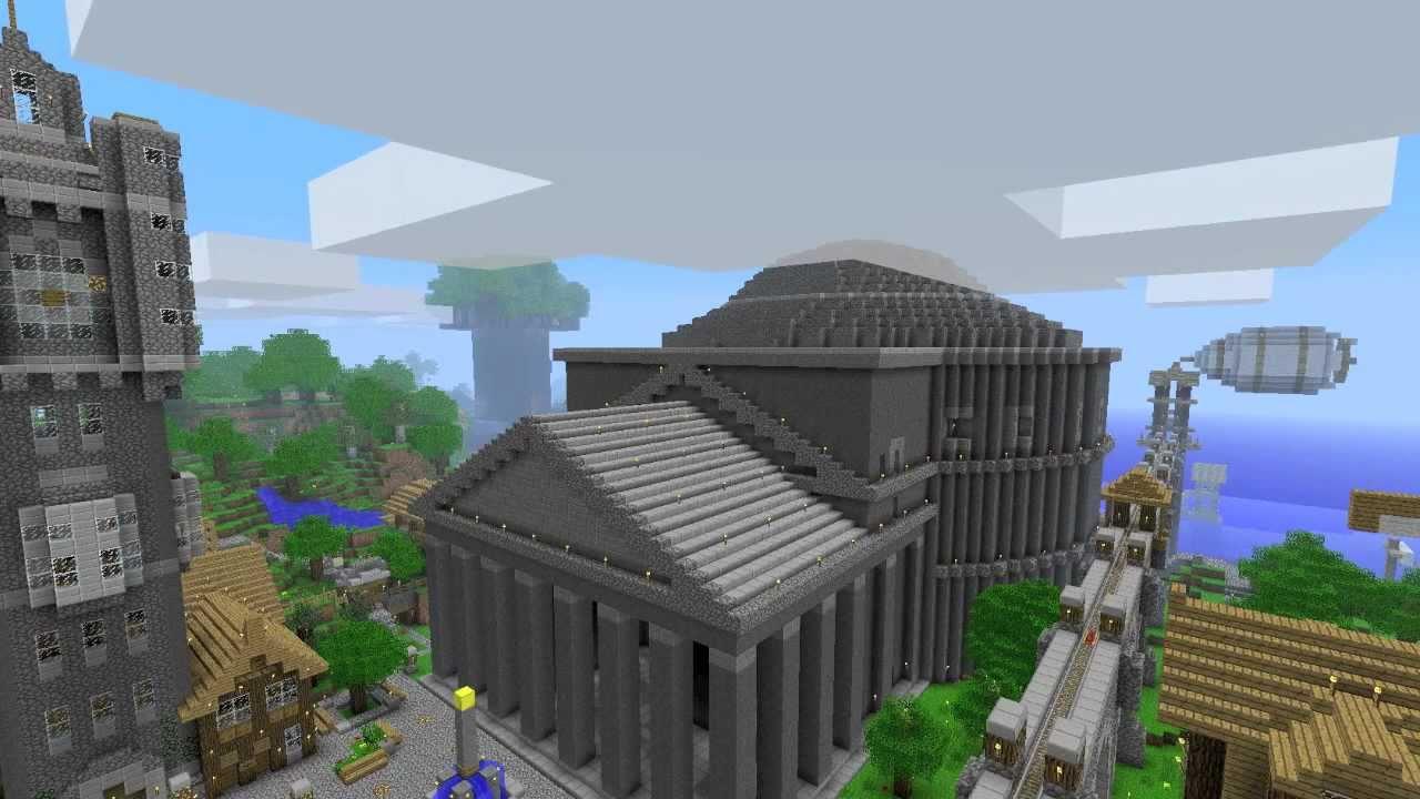 The Pantheon Minecraft Roman