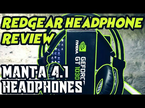Redgear headphone / redgear gaming set manta 4.1 / redgear headphones review
