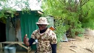 Soldiers freestyle in sambisa forest