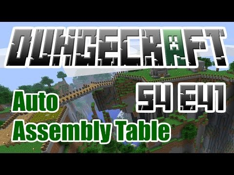 Tekkit: DungeCraft - Automated Assembly Crafting - Chipsets and Gates - S4 E41