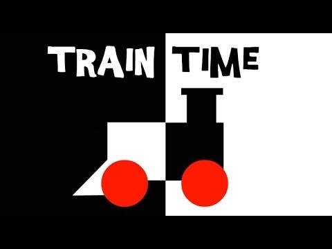 Black, White and Red: Train Time &quot;Infant Stimulation&quot;