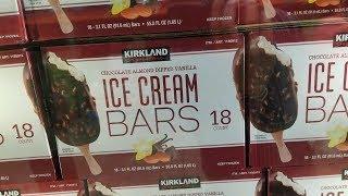 Costco Kirkland Almond Dipped Vanilla ICE Cream Bars VS Haagen-Daz TASTE TEST which is better