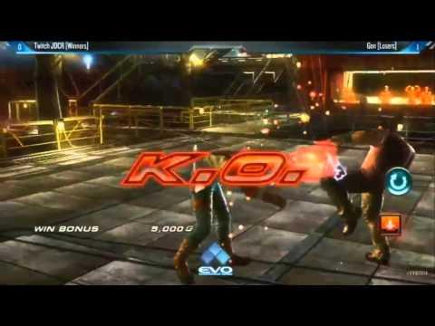 Tekken Tag 2 Grand Finals Evo 2014 JDCR vs Genkids