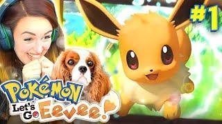 😍 IT'S SO CUTE!!! - (Pokemon Let's Go Eevee!🐶 #1)