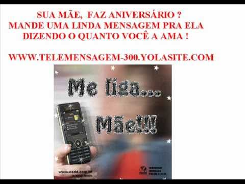 Telemensagem Aniversario De Mae.wmv video