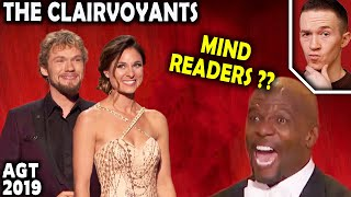 Magician REACTS to The Clairvoyants mind-readers on AGT The Champions 2019