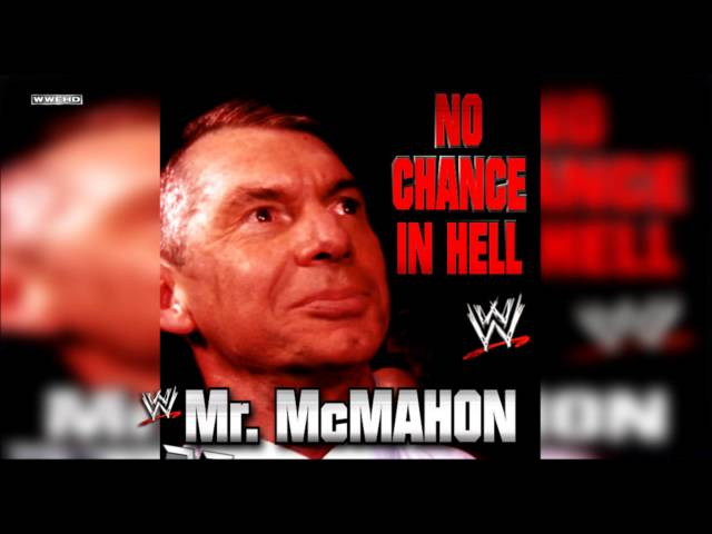"""WWE: """"No Chance In Hell"""" (Mr. McMahon) Theme Song + AE (Arena Effect) thumbnail"""