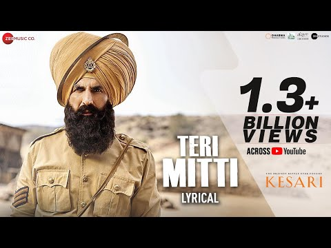 Teri Mitti - Lyrical | Kesari | Akshay Kumar & Parineeti Chopra | Arko | B Praak| Manoj Muntashir