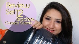 ♥♥ Review Set 12 Brochas Coastal Scents // Español ♥♥