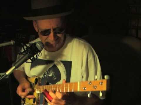 Cigar Box Guitar Blues - Shinin' Moon - Lightnin' Hopkins