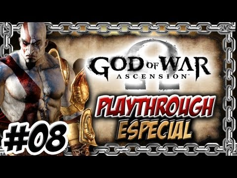 God of War Ascension - PT-BR - Detonado / Playthrough / Walkthrough - PARTE #08