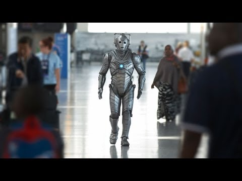 Cybermen, Jenny Colgan and the London Philharmonic: Doctor Who at Heathrow
