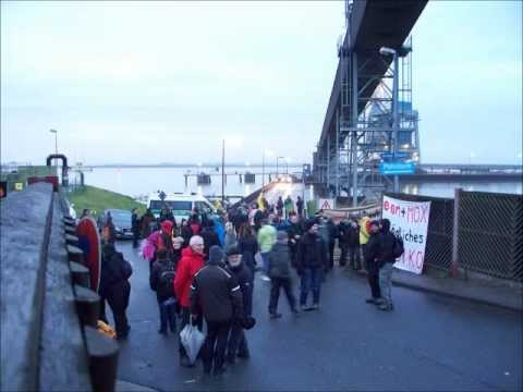 MOX-Transport 18.11.2012: Demo in Nordenham
