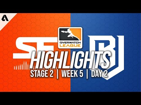 San Francisco Shock vs Boston Uprising | Overwatch League Highlights OWL Stage 2 Week 5 Day 2