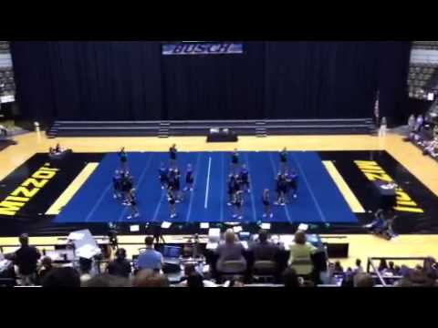 Marquette High School 2013 MO Cheer Championship