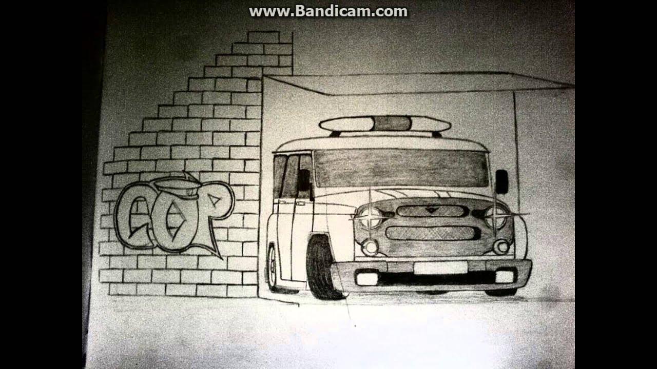 Рисунки поэтапно машин и рисунков бпан
