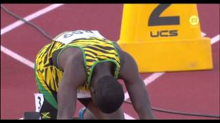 IAAF World Junior Championships 2014 - Men's 100 Metres Semi Final Heat 1