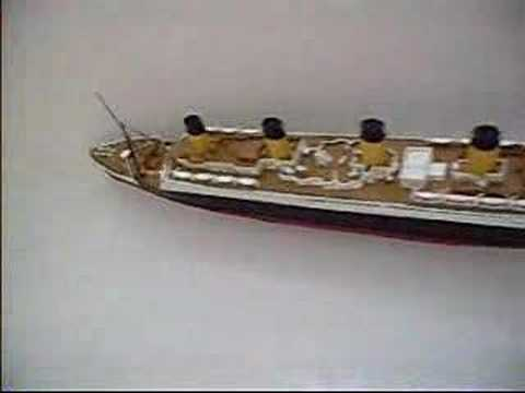 titanic model (float test)