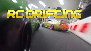 I get some new 350z parts fix the BT50 and go RC drifting