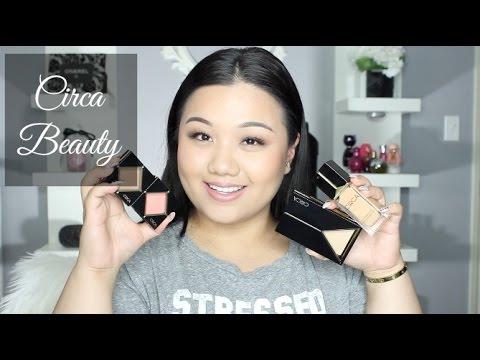 CIRCA Cosmetics Review - Foundation , Powder , Blush + More | Meimeimakeup