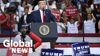 U.S. President Trump holds rally in Dallas, Texas | LIVE