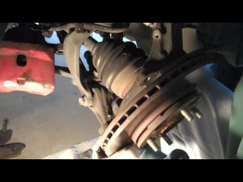 Tutorial:  How to change a lower ball joint in a 1995 Honda Accord