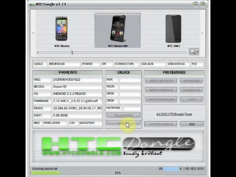 HTCDongle.com - HTC Desire HD Unlock